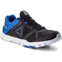 Buty Reebok - Yourflex Train 10 Mt CN5650  Black/Vital Blue/White. Czarne buty fitness męskie Reebok, z materiału, reebok yourflex. W wyprzedaży za 159,00 zł.