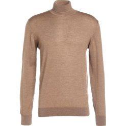 Swetry klasyczne męskie: Tiger of Sweden VISAVI   Sweter brown