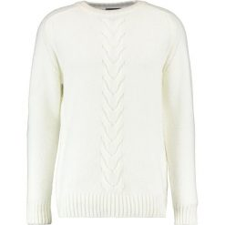 Swetry męskie: New Look INSERT CABLE CREW Sweter cream