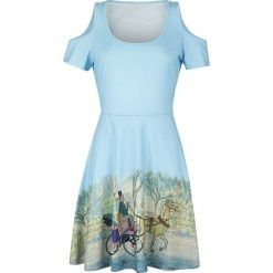Aristocats Carriage Sukienka wielokolorowy. Szare sukienki na komunię Aristocats, xxl, z nadrukiem, oversize. Za 99,90 zł.