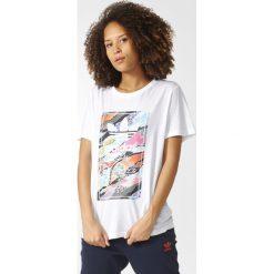 Koszulka adidas Originals Tongue Logo (BK2343). Czarne bluzki damskie marki Alpha Industries, z materiału. Za 64,99 zł.