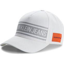 Czapka z daszkiem CALVIN KLEIN JEANS - J Reflective Cap M K40K400767 102. Białe czapki z daszkiem damskie marki Calvin Klein Jeans, z bawełny. Za 159,00 zł.