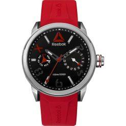 Zegarki męskie: Zegarek kwarcowy w kolorze czerwono-srebrno-czarnym