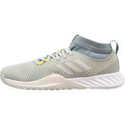 Adidas Performance CRAZYTRAIN PRO 3.0 Obuwie treningowe ash silver/raw green. Szare buty sportowe męskie adidas Performance, z materiału. Za 399,00 zł.