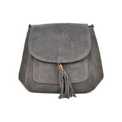 Torebka w kolorze szarym - (S)20,5 x (W)20,5 x (G)6 cm. Szare torebki klasyczne damskie Bestsellers bags, w paski, z materiału. W wyprzedaży za 149,95 zł.