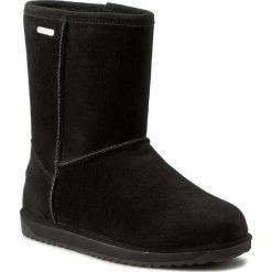 Buty EMU AUSTRALIA - Paterson Lo W10771 Black 2016. Czarne buty zimowe damskie marki EMU Australia, ze skóry, na niskim obcasie. W wyprzedaży za 449,00 zł.