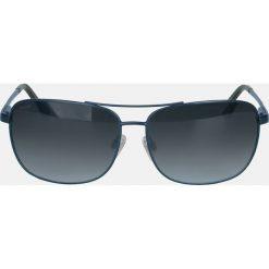 Granatowe okulary z polaryzacją. Niebieskie okulary przeciwsłoneczne męskie wayfarery Kazar, z tworzywa sztucznego. Za 349,00 zł.