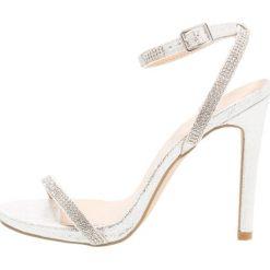 Sandały damskie: New Look QUAKER Sandały na obcasie silver