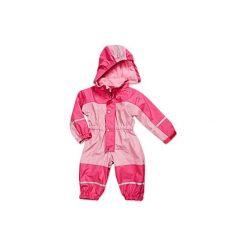 Playshoes  Kombinezon różowy z polarem. Czerwone kombinezony niemowlęce marki Playshoes, z materiału. Za 209,00 zł.