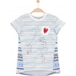 Bluzki dziewczęce: Wzorzysta bluzka dla dziewczynki