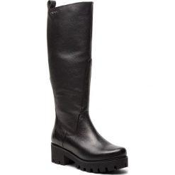 Kozaki EVA MINGE - Lorca 4M 18SM1372494EF 101. Czarne buty zimowe damskie Eva Minge, ze skóry, na obcasie. W wyprzedaży za 429,00 zł.