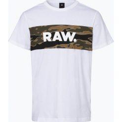 G-Star - T-shirt męski – Tairi, czarny. Szare t-shirty męskie z nadrukiem marki G-Star. Za 99,95 zł.