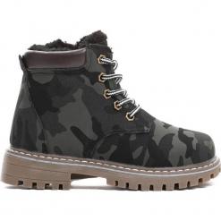 Czarne Traperki Piece Of Me. Czarne buty zimowe chłopięce Born2be, z materiału, z okrągłym noskiem, na zamek. Za 89,99 zł.
