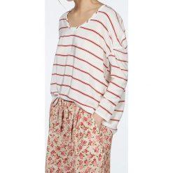 """T-shirty damskie: Koszulka """"Pomegrande"""" w kolorze biało-czerwonym"""