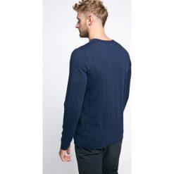 Lee - Sweter. Szare swetry klasyczne męskie Lee, l, z bawełny, z okrągłym kołnierzem. W wyprzedaży za 139,90 zł.
