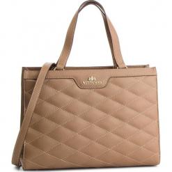 Torebka WITTCHEN - 87-4E-400-9 Brązowy. Brązowe torebki klasyczne damskie marki Wittchen, ze skóry ekologicznej. W wyprzedaży za 489,00 zł.