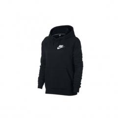 Bluzy Nike  AJ6315  Sportswear Rally. Czarne bluzy damskie marki Nike, xs, z bawełny. Za 250,64 zł.