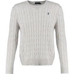 Kardigany męskie: Polo Ralph Lauren CABLE Sweter light grey heather