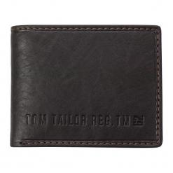 Tom Tailor Portfel Męski Brązowy Harry. Czarne portfele męskie marki Tom Tailor. Za 205,00 zł.