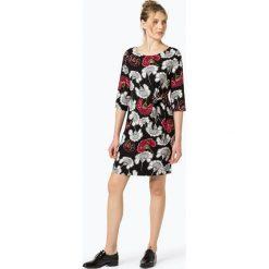 S.Oliver Black Label - Sukienka damska, czarny. Czarne sukienki hiszpanki s.Oliver BLACK LABEL, s, w kwiaty, proste. Za 459,95 zł.