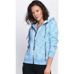 Bluzy damskie: Niebieska Bluza Never Get Enough