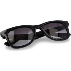 Okulary przeciwsłoneczne VANS - Janelle Hipster VN000VXLY45  Black/Smoke. Szare okulary przeciwsłoneczne damskie lenonki marki ORAO. Za 59,00 zł.