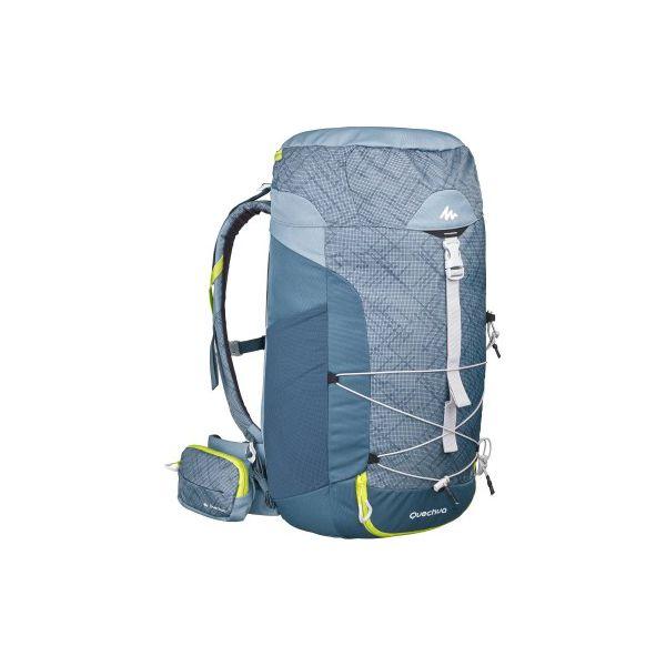 817cc7441e7ac Plecak turystyczny NH100 40 l - Szare plecaki damskie QUECHUA. Za ...