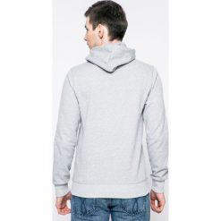 Jack & Jones - Bluza. Czarne bluzy męskie rozpinane marki Jack & Jones, l, z bawełny, z okrągłym kołnierzem. W wyprzedaży za 79,90 zł.