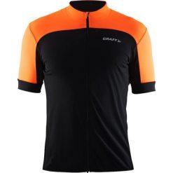 Craft Koszulka rowerowa Balance Jersey czarno-pomarańczowa r. S (1905007-9576). Białe odzież rowerowa męska marki Craft, m. Za 128,70 zł.
