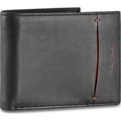 Duży Portfel Męski PIERRE CARDIN - TILAK07 8866 Czarny/Bordo 17446. Czarne portfele męskie marki Pierre Cardin, ze skóry. Za 109,00 zł.