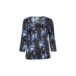 Bluzki Color Block  TUSCA. Niebieskie bluzki damskie Color Block, m. Za 167,30 zł.