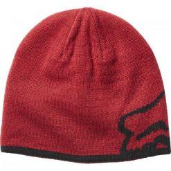 FOX Czapka Męska Streamliner Uni, Czerwona. Szare czapki męskie marki FOX, z bawełny. Za 117,00 zł.
