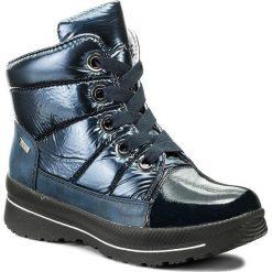 Śniegowce CAPRICE - 9-26202-29 Ocean Comb 880. Niebieskie buty zimowe damskie marki Caprice, z materiału. W wyprzedaży za 279,00 zł.