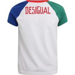 T-shirty chłopięce z nadrukiem: Desigual DIEGO Tshirt z nadrukiem white