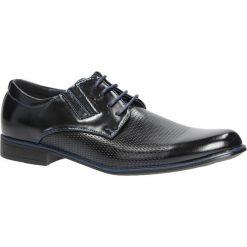 Czarne buty wizytowe sznurowane Casu MXC394. Czarne buty wizytowe męskie Casu, na sznurówki. Za 79,99 zł.