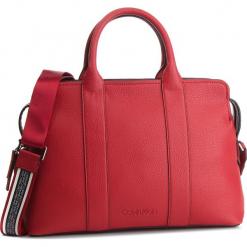 Torebka CALVIN KLEIN - Race Tote K60K604882 640. Czerwone torebki klasyczne damskie marki Calvin Klein, ze skóry ekologicznej. Za 699,00 zł.