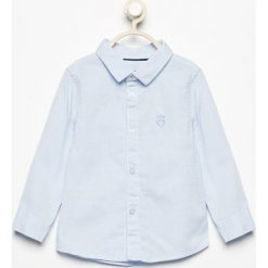 Bawełniana koszula w kratkę - Niebieski. Niebieskie koszule męskie w kratę Reserved, m, z bawełny. Za 119,99 zł.