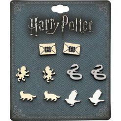 Kolczyki damskie: Harry Potter Houses Kolczyki - Earpin wielokolorowy