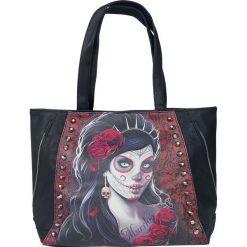 Torebki i plecaki damskie: Spiral Day Of Death Torebka - Handbag czarny