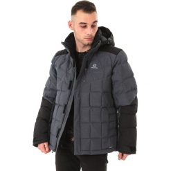 Kurtki męskie bomber: Salomon Kurtka męska Icetown Motion Fit Dark Grey Heather r. XL (397782)