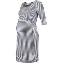 Sukienki hiszpanki: Boob EVA STRIPED DRESS Sukienka z dżerseju tofu/soft ink
