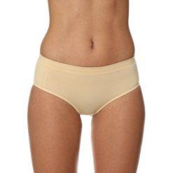 Figi: Brubeck Figi damskie Hipster Classic Comfort Cotton beżowe r. XL (HI00090A)