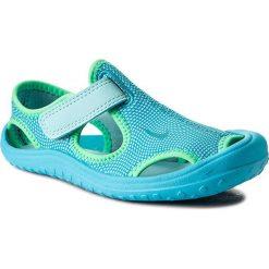 Sandały NIKE - Sunray Protect (Ps) 903633 400 Still Blue/Chlorine Blue. Niebieskie sandały chłopięce Nike, z materiału. Za 119,00 zł.