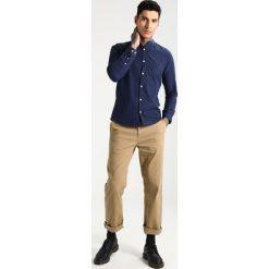 Koszule męskie na spinki: Suit ROAD MANDARIN Koszula navy