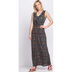 Sukienki: Ciemnozielona Sukienka Retro Romantic