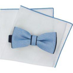 Muchy męskie: mucha cotton niebieski classic 200