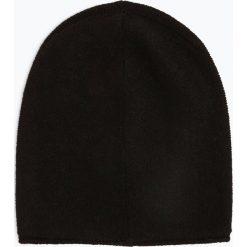 Marie Lund - Damska czapka z czystego kaszmiru, czarny. Czarne czapki damskie Marie Lund, z kaszmiru. Za 229,95 zł.