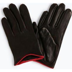 Pearlwood - Skórzane rękawiczki damskie, czarny. Czarne rękawiczki damskie Pearlwood, ze skóry. Za 249,95 zł.