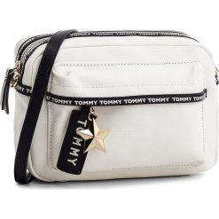 Torebki i plecaki damskie: Torebka TOMMY HILFIGER – Th Logo Tape Crssover AW0AW05285 104