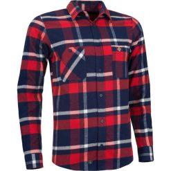 Koszule męskie na spinki: Woox Koszula męska Flannel Rider Men´s Dark Denim r. XL